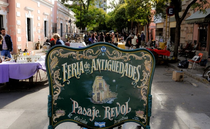 Visitar Feiras do Paseo de las Artes em Córdoba