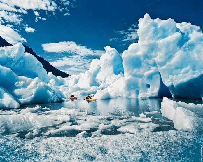 Conhecer Glacier Grey com as crianças em Puerto Natales