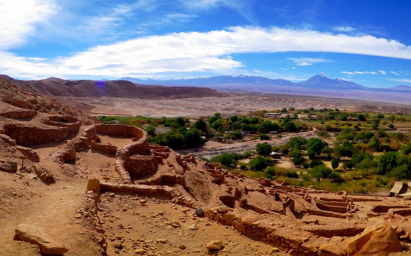 Ir ao sítio arqueológico de Pucará de Quitor