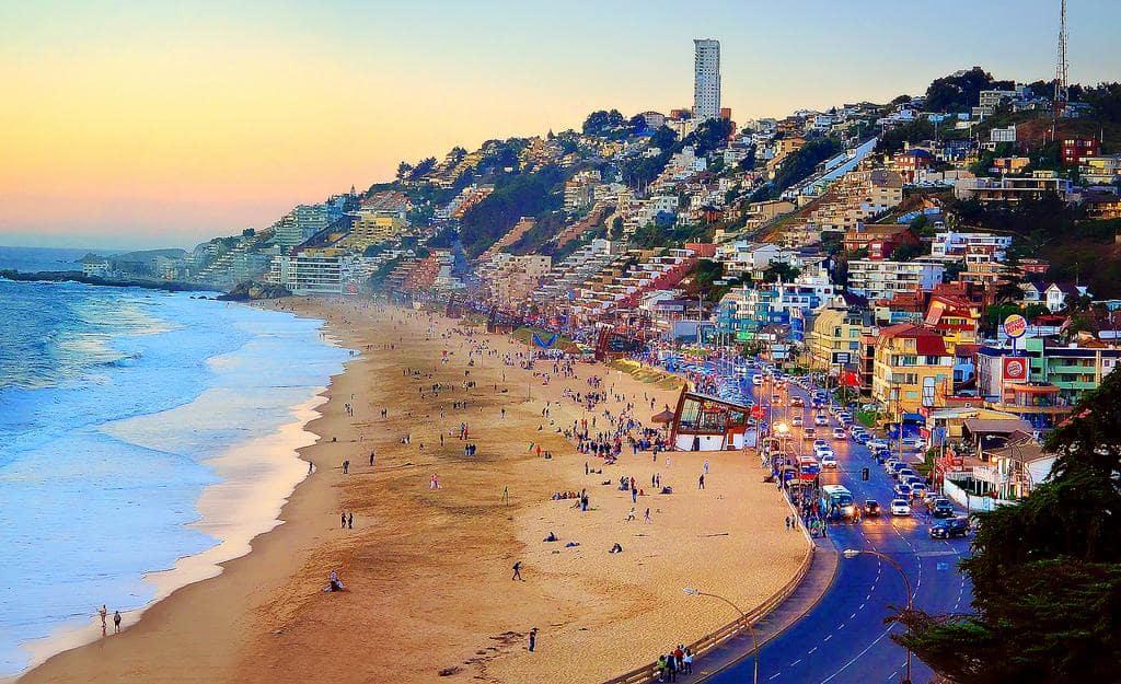 O Que Fazer Em Viña del Mar: Conhecer a Praia de Reñaca em Viña del Mar