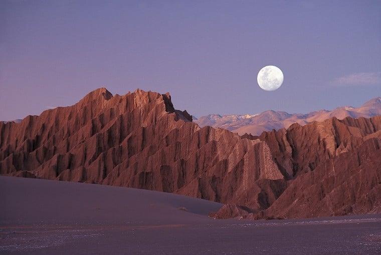 Ir a Valle de la Luna em san pedro de atacama