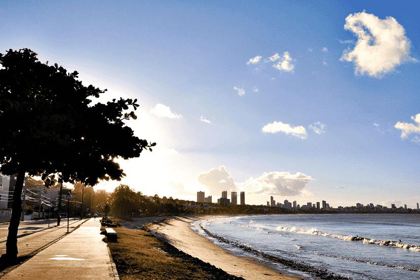 O que fazer em João Pessoa: Praia Cabo Branco