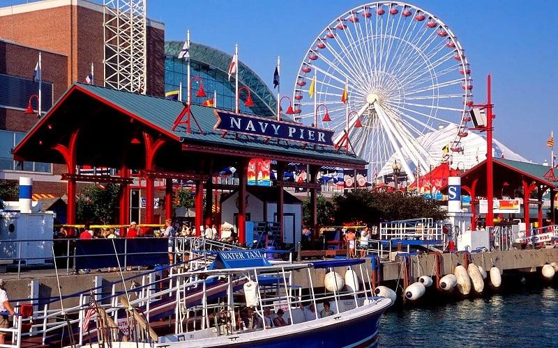 O que fazer em Chicago: Navy Pier