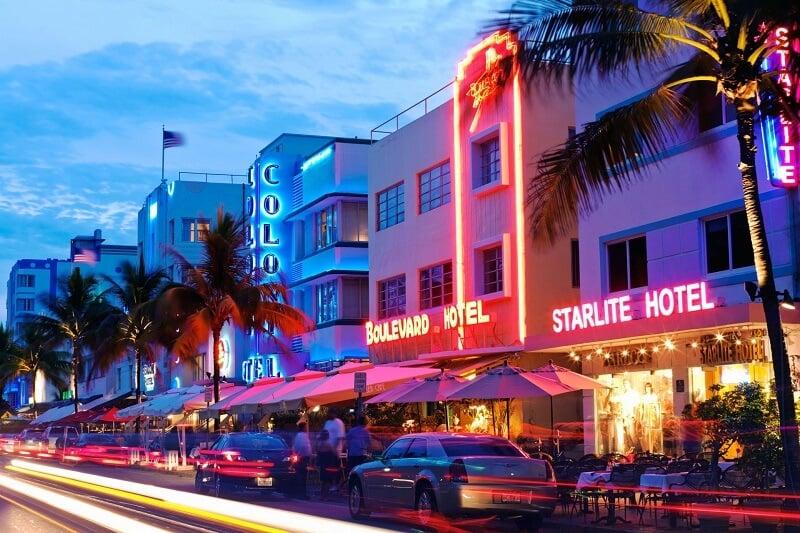 O que fazer em Miami: Art Deco District