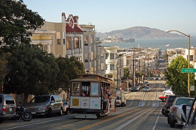 O que fazer em San Francisco: Bondes