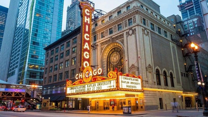 O que fazer em Chicago: Chicago Theatre