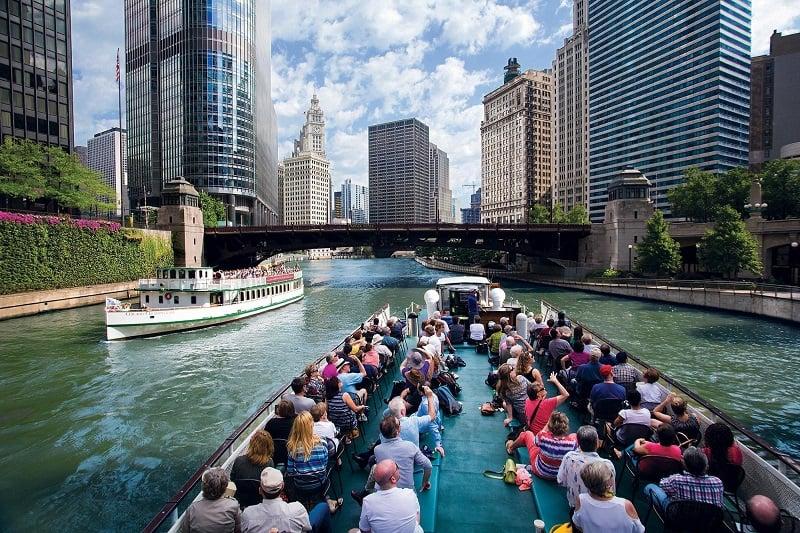 O que fazer em Chicago: Chicago River