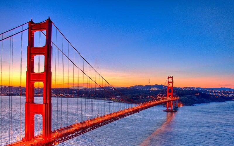 O que fazer em San Francisco: Golden Gate Bridge
