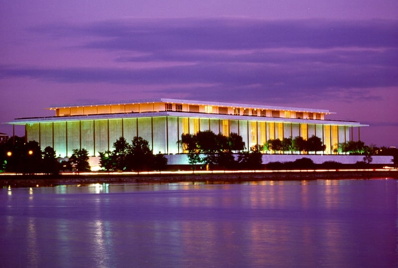 O que fazer em Washington: John F. Kennedy Center for the Performing Arts