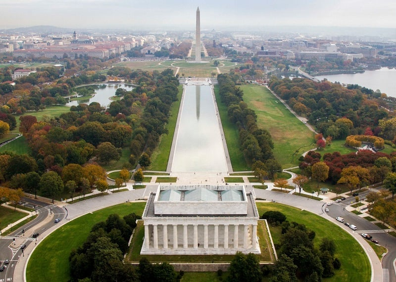 O que fazer em Washington: National Mall e Parques Memorial