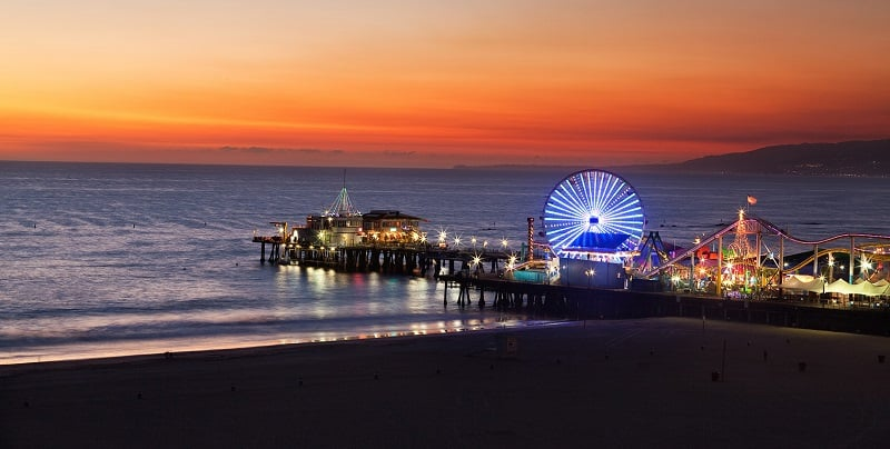 O que fazer em Los Angeles: Pier de Santa Monica
