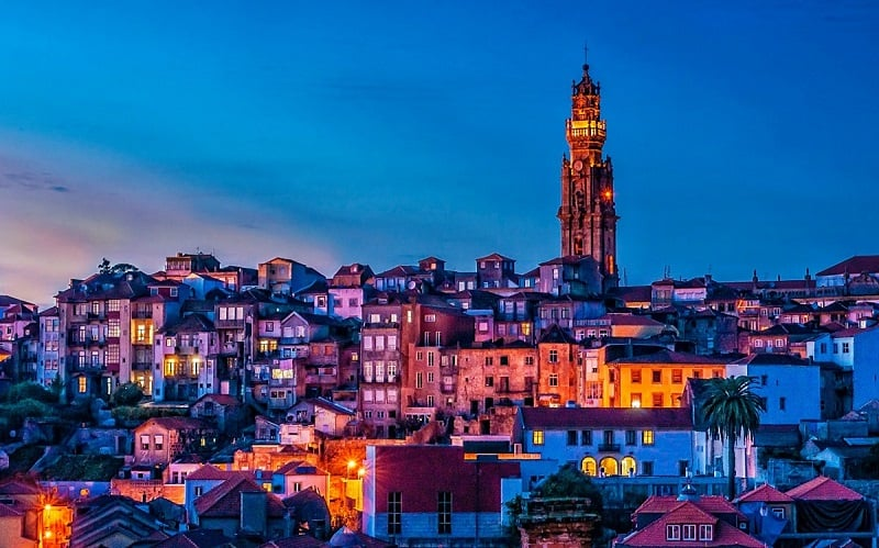 O que fazer em Porto: Torre dos Clérigos