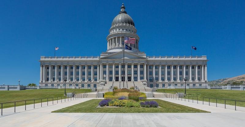 O Que Fazer em Salt Lake City em Utah: Utah State Capitol