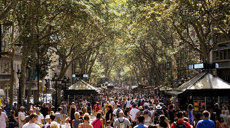 O que fazer em Barcelona: Las Ramblas