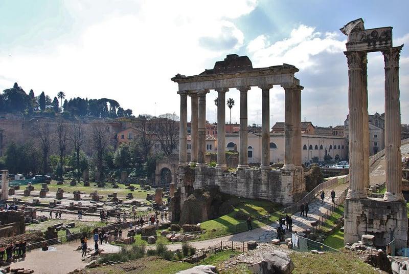 O que fazer em Roma: Palatino