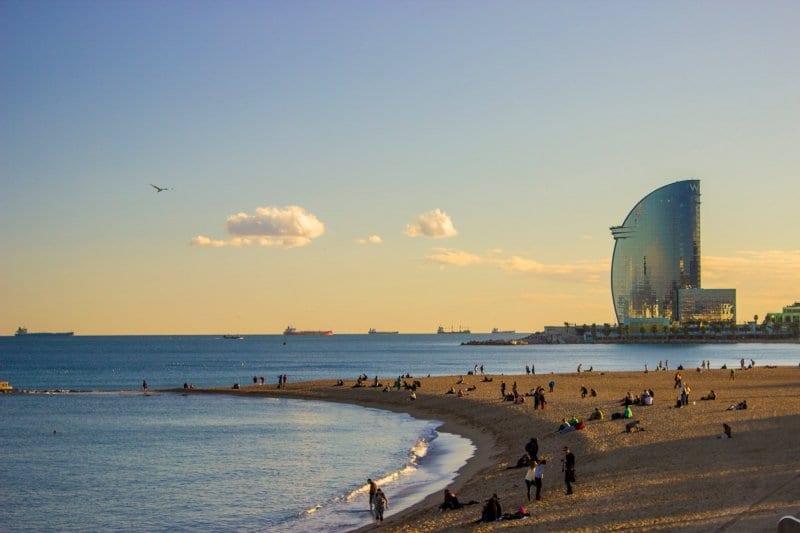 O que fazer em Barcelona: Praias em Barcelona
