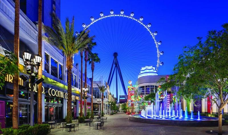 O Que Fazer em Las Vegas: Complexo The Linq