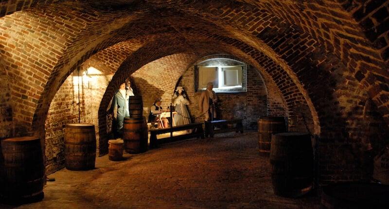 O Que Fazer em Charleston: Old Exchange & Provost Dungeon