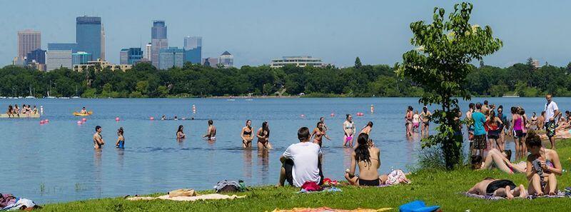 O Que Fazer em Minneapolis: Lake Calhoun