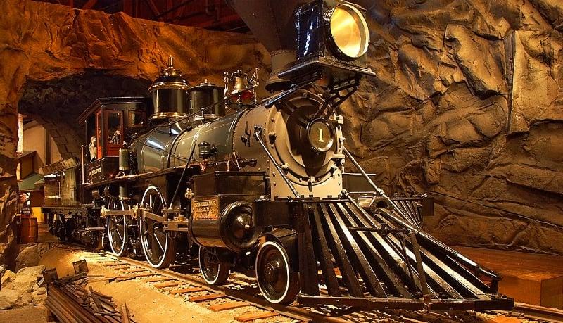 O Que Fazer em Sacramento: California State Railroad Museum