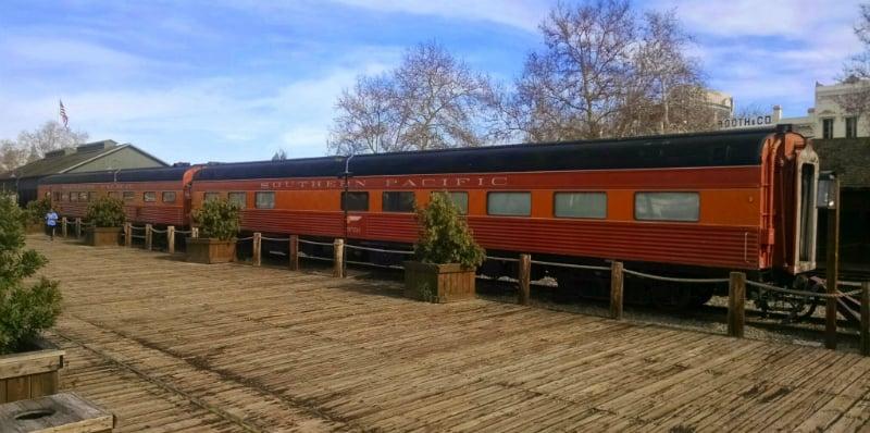 O Que Fazer em Sacramento: Passeio de Trem
