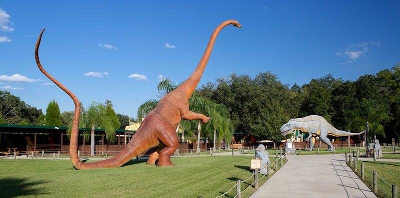 O Que Fazer em Tampa: Dinosaur World