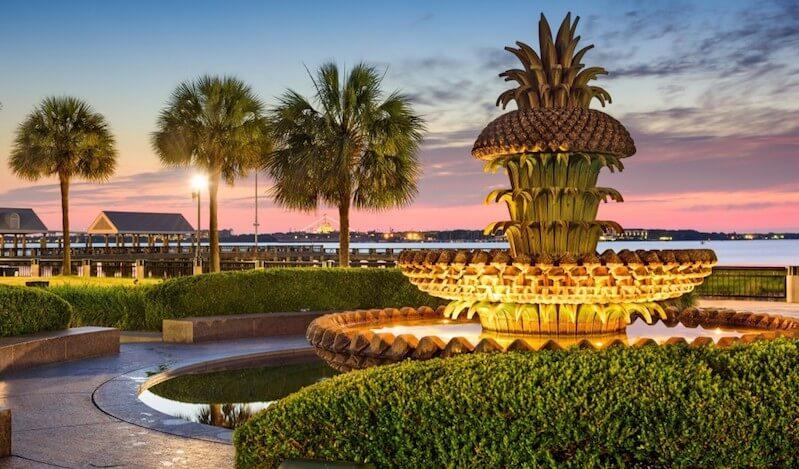 O Que Fazer em Charleston: Waterfront Park
