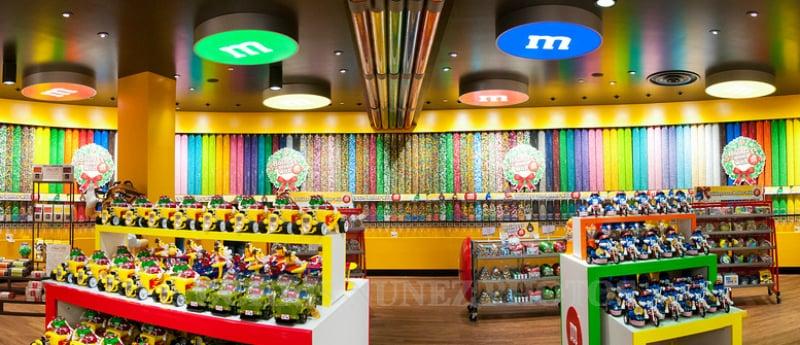O Que Fazer em Las Vegas: M&M's World