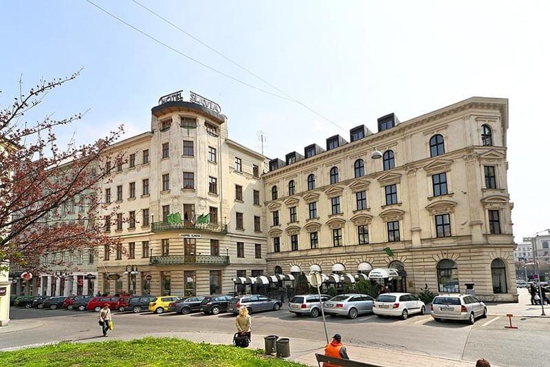 O que fazer em Brno: Hotel