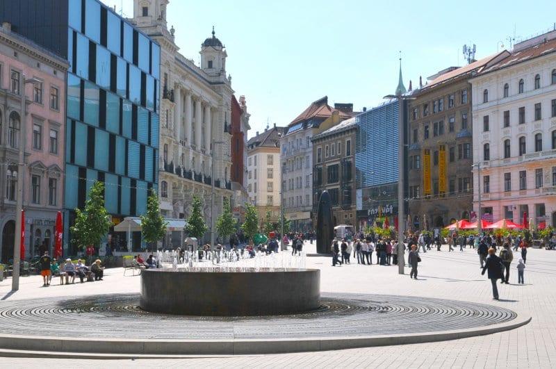 O que fazer em Brno: Praça da Liberdade