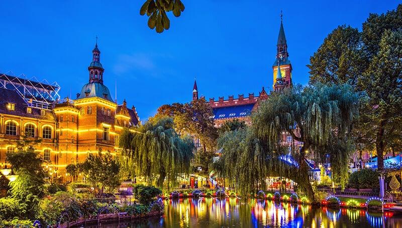 O que fazer em Copenhague: Jardins de Tivoli