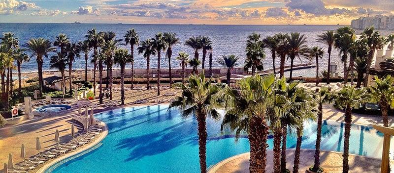 O que fazer em Malta: Hotel