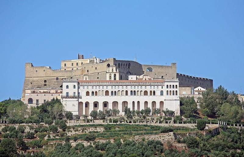 O que fazer em Nápoles: Castelo Sant Elmo