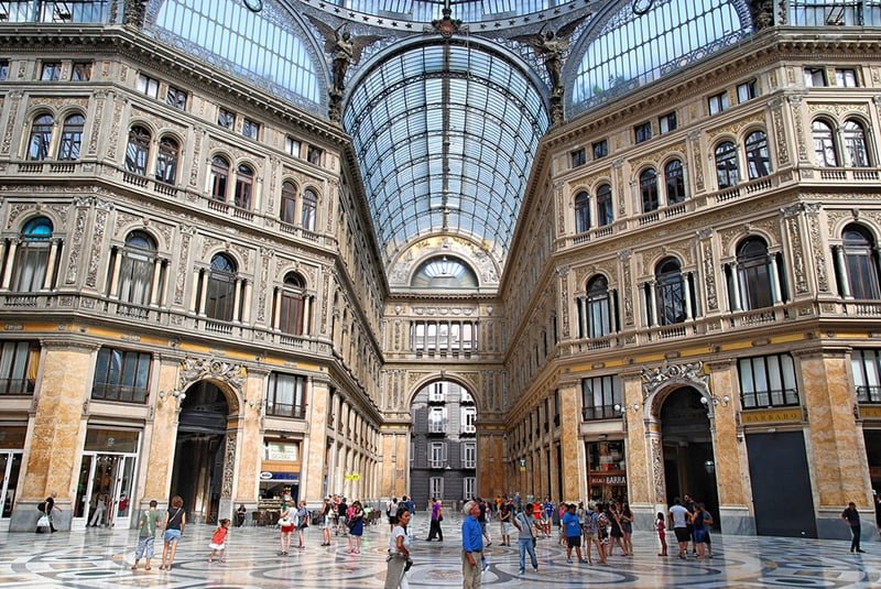 O que fazer em Nápoles: Galeria Umberto