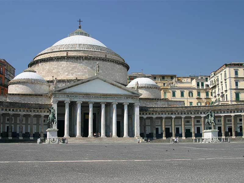 O que fazer em Nápoles: Praça do Pebliscito