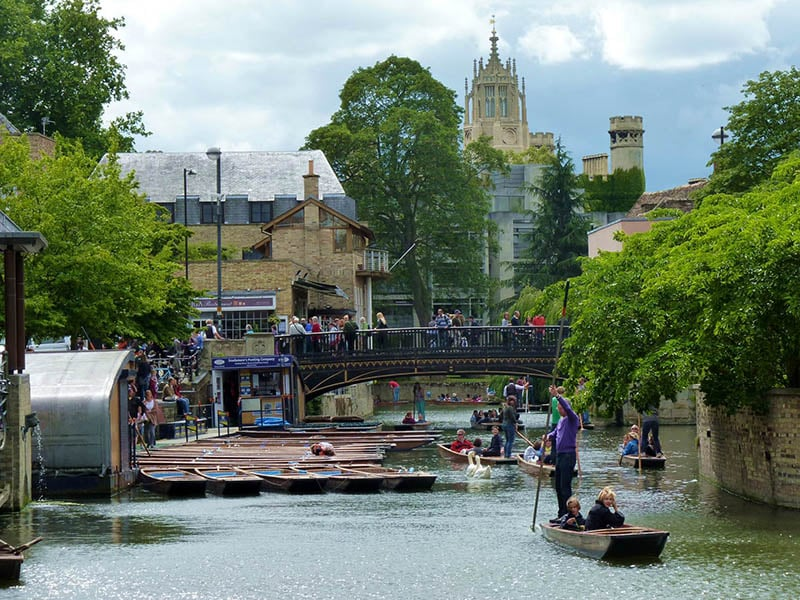 O que fazer em Oxford:Punting