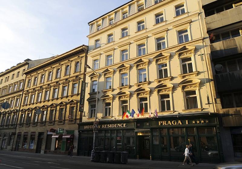 O que fazer em Praga: Hotel
