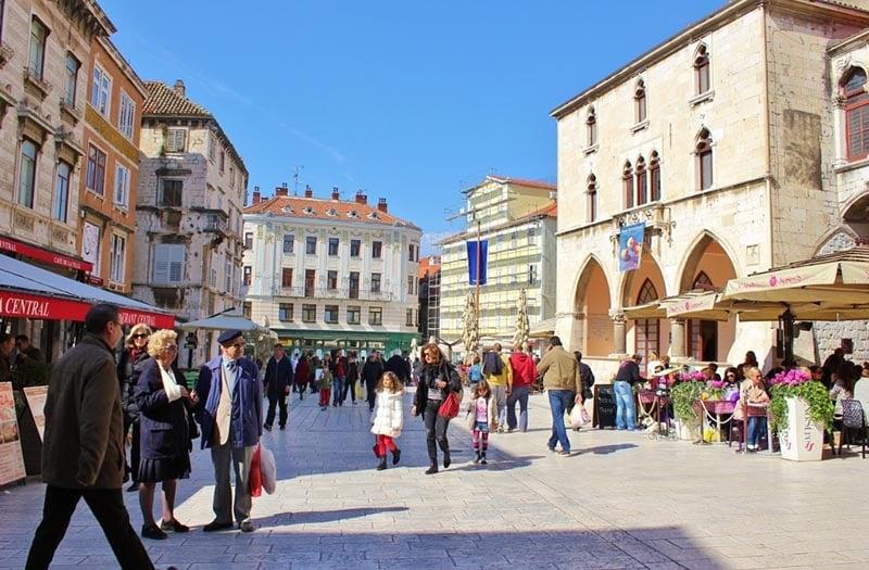 O que fazer em Split: Praça do Povo