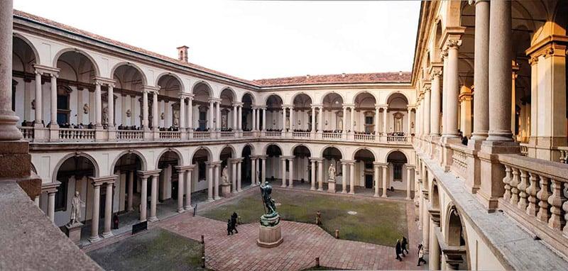 O que fazer em Milão: Pinacoteca de Brera