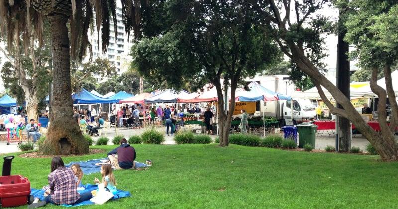 O Que Fazer em Santa Monica: Farmers Mark
