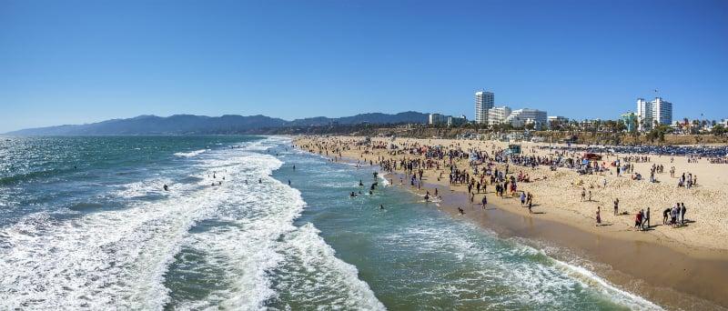 O Que Fazer em Santa Monica: Praias