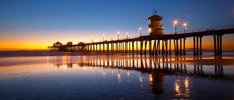 O Que Fazer em Huntington Beach: Huntington Beach Píer