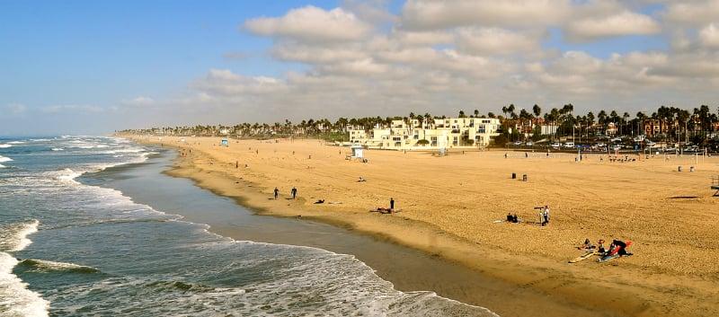 O Que Fazer em Huntington Beach: Praia