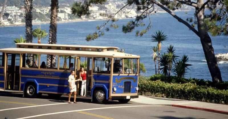 O Que Fazer em Laguna Beach: Trolley
