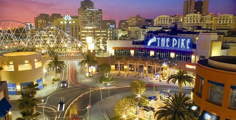 O Que Fazer em Long Beach:The Pike