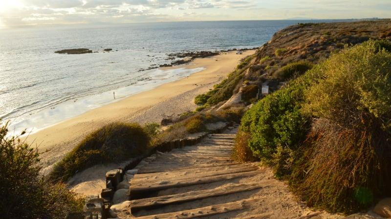 O Que Fazer em Newport Beach: Crystal Cove State Park