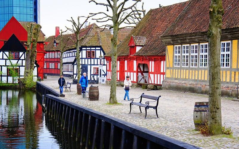 O que fazer em Aarhus: Cidade Antiga