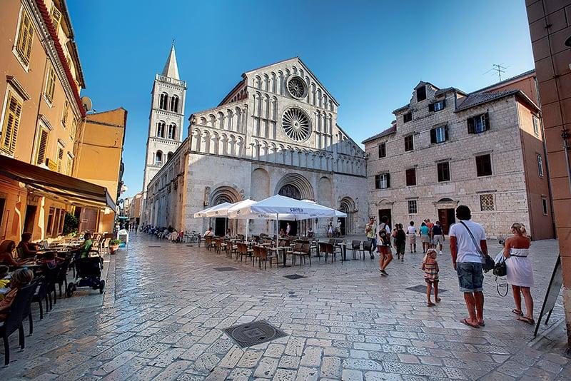 O que fazer em Zadar: Centro Histórico