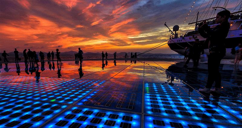 O que fazer em Zadar: Orago do Mar