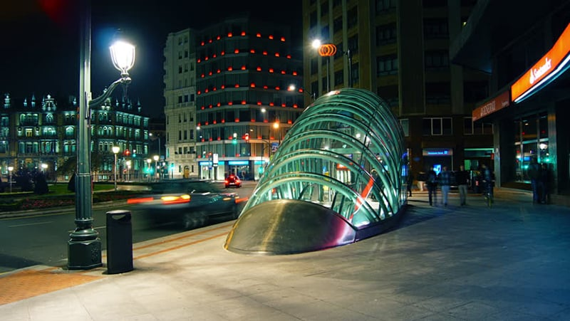 O que fazer em Bilbao: Metro